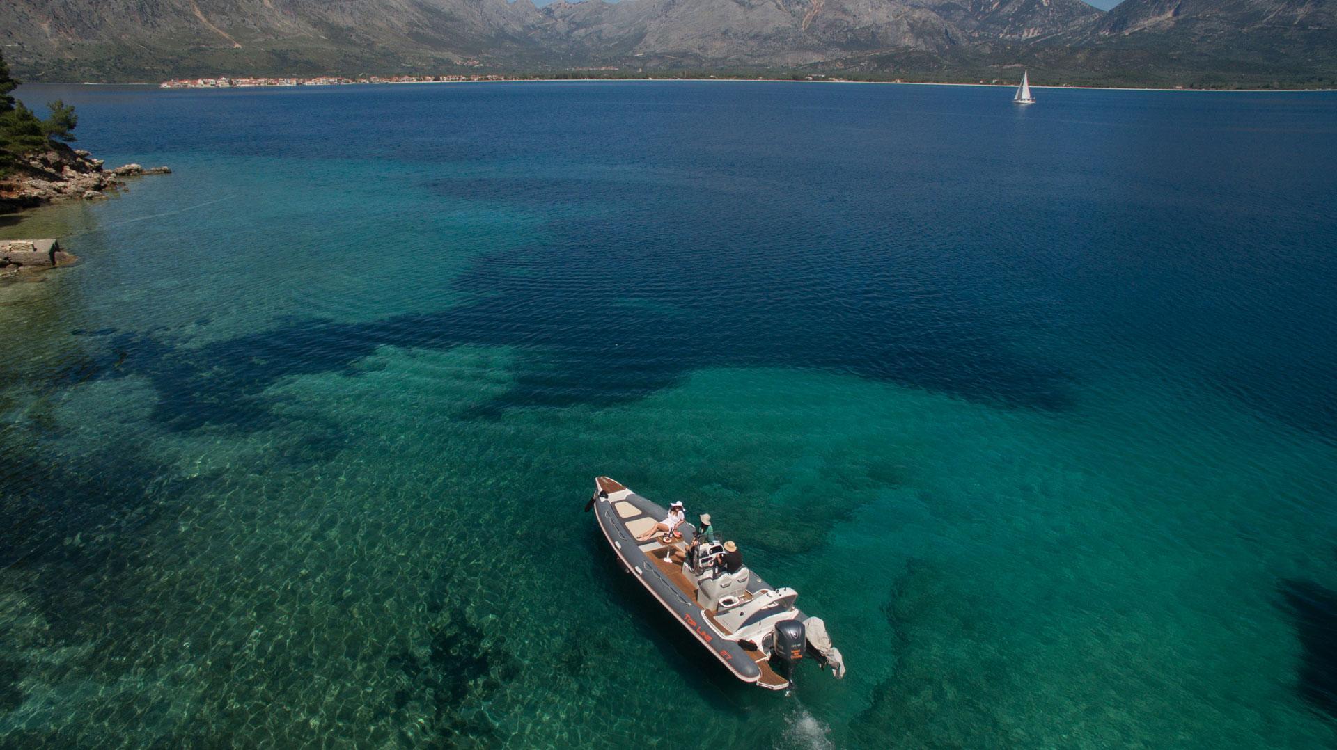 Ionian Rib Cruising